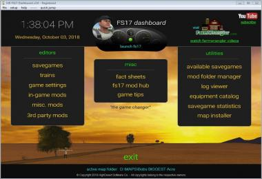 FS17 Dashboard v3.1