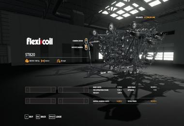 FS19 Flexicoil ST820 Cultivator VE v1.0