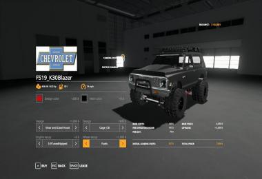 FS19 K30Blazer v1.0