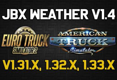 JBX Weather for ATS - ETS2 v1.4
