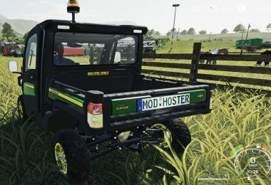 JD XUV865M Gator with 46ps, 75kmh and license plates v1.0.0.2