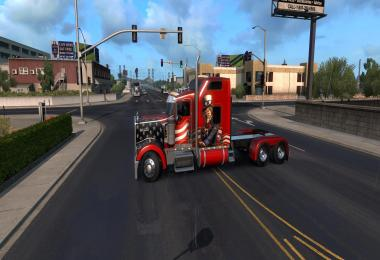 Kenworth W900L by Big Bob v3.2 for ATS 1.32+