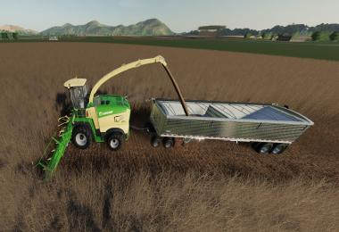 Krone X-Collect 900-3 Poplar v1.0.1
