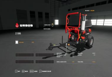 KUHN FBP 3135 and URSUS Z586 v1.0