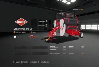Kuhn MergeMaxx902 - MultiColor v1.0