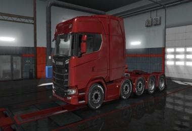 Long Chassis For Scania 2016 1.33.x