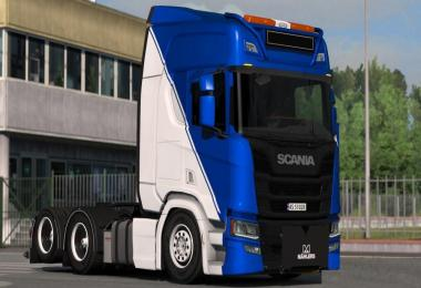 Low Chassis For Scania 2016 1.32.x-1.33.x