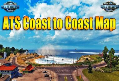 Map Coast to Coast v2.6.2.2 Updated 1.33