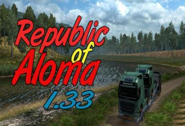 Map Republic of Aloma 1.33