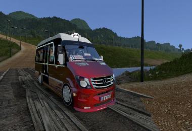 Mercedes Benz Sprinter Minibus v1R2 1.33.x