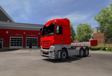 Mercedes MP3 - Paintjob PJ v0.2 - ETS2 1.33