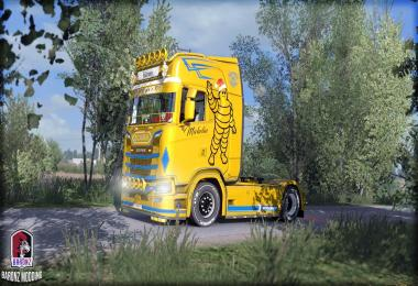 Michelin Christmas edition skin 1.33