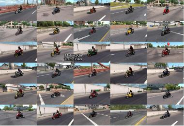 Motorcycle Traffic Pack (ATS) by Jazzycat v1.9