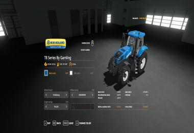 New Holland T8 Series By Gamling v1.0.0.0