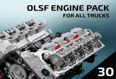 OLSF Engine Pack 30 for All trucks