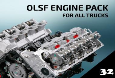 OLSF Engine Pack v32 for all Trucks 1.33.x