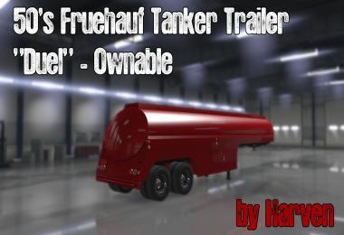 Ownable 50s Fruehauf Tanker Trailer - Duel v1.0