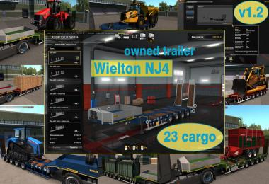 Ownable overweight trailer Wielton NJ4 v1.2