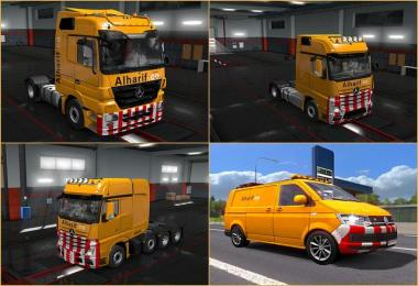 Pack - Al Harif Sepcial Transport - For ETS2 v1.0