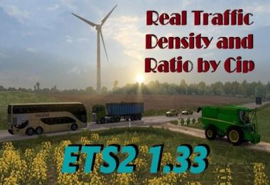 Real Traffic Density and Ratio 1.33.e
