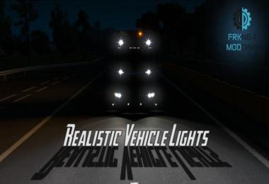 Realistic Vehicle Lights v4.0 1.33.x