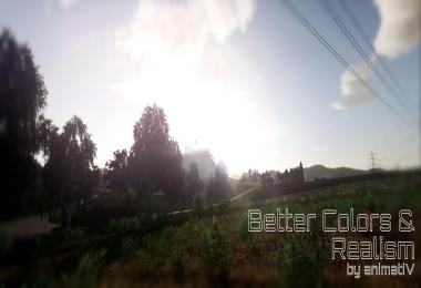 Reshade v4.0.2 Better Colors & Realism by animatiV