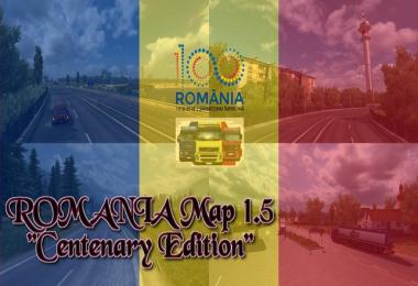 ROMANIA Map v1.5