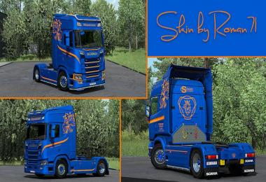 Scania Ruegsegger Transport skin pack 1.33