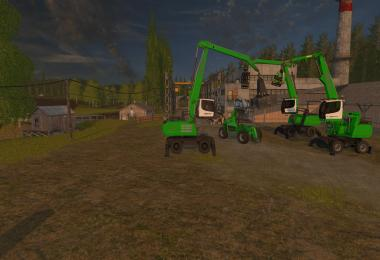 Sennebogen Real Forestry MACHINERY Pack by Ocelot