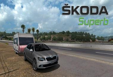 Skoda Superb for ATS v3.4 released 1.32.x-1.33.x