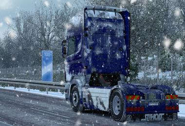 Snow Skin for Scania RS (RJL) by ARADETH