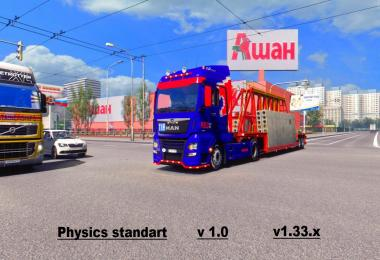 Standard Physics for ETS2 v1.0
