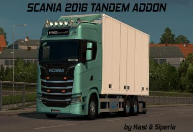 Tandem addon for Next Gen Scania by Siperia