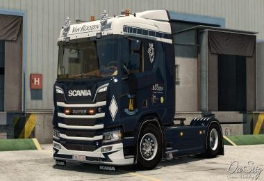 Van Rooijen skin for Scania Next Gen v1.0