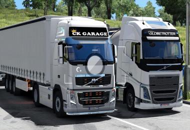 Volvo Fh16 V1 CK GARAGE 1.33.x