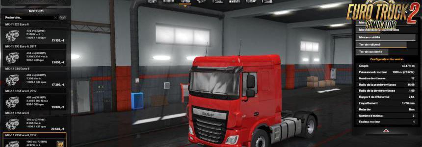 1000HP for all DAF Trucks 1.33.x
