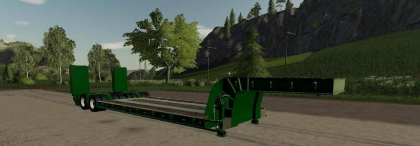 16 Wheels Low Deck Trailer v1.0.0.0