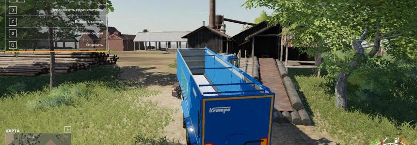 3 Axle trailer Groenbedrijf v1.1
