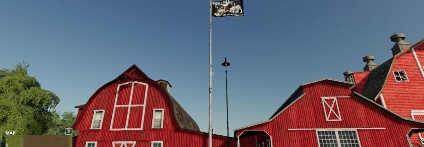 Pow-Mia USA Eagle Tribute Flag v1.0.0