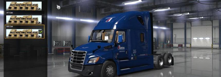 Freightliner Cascadia 2018 fix v1.9 1.33.x