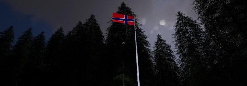 Norway flagg v1.0