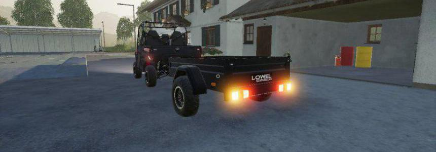 Mahindra trailer by LOWEL v1.1