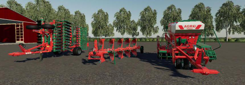Agromasz Pack for FS19 v1.0.0.0