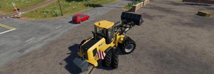 All Wheel Drive Modes - JCB Frontloader FIXED v1.0