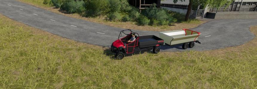 ATV Tipper Trailer v1.1