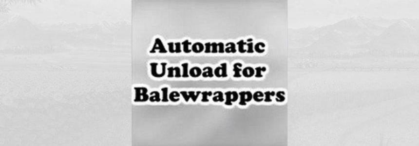 Automatic unloading for bale wrappers v1.0.0.0