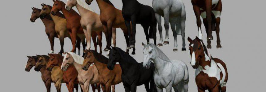 Decorative horses for GE v1.0.0.0