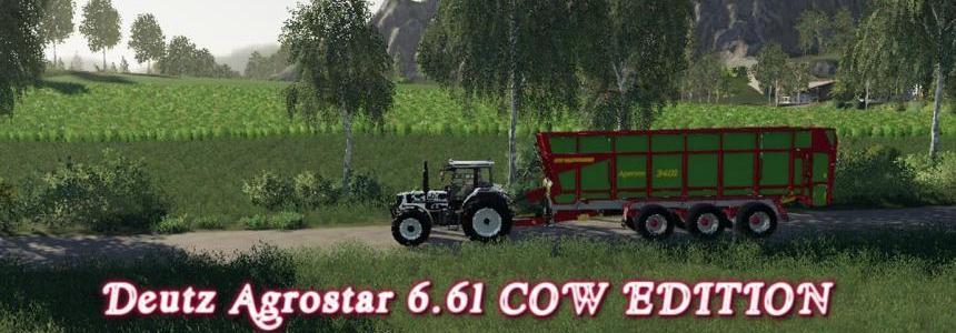 Deutz Agrostar 6.61 COW EDITION v1.0
