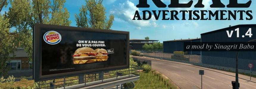ETS 2 - Real Advertisements v1.4
