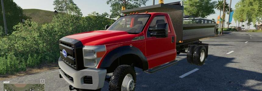 F550 dump truck v1.0